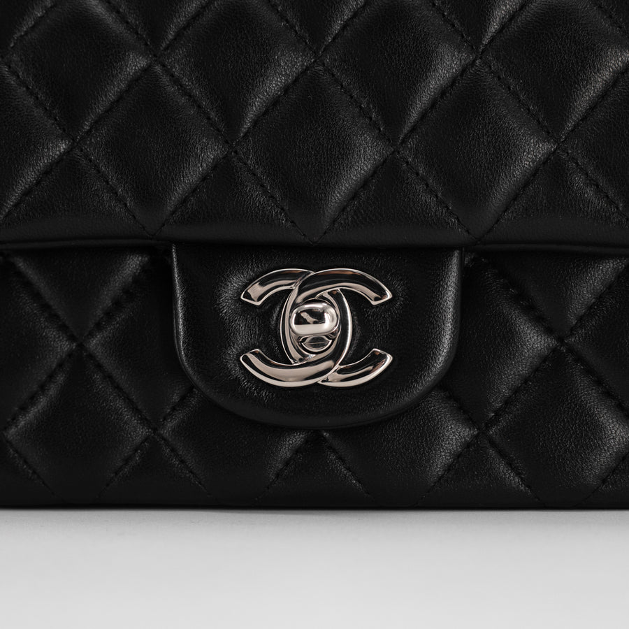 Chanel Square Mini Black