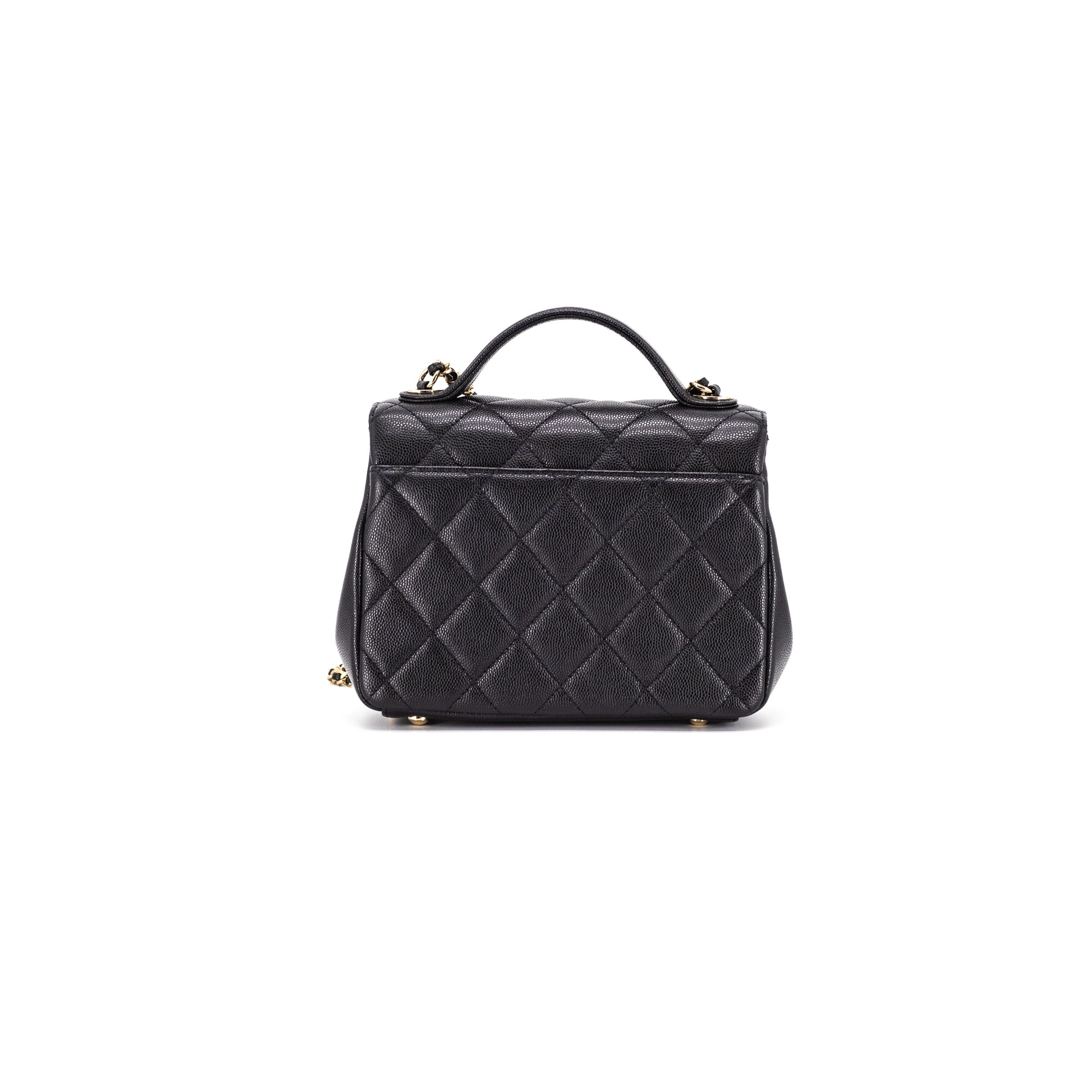 b590582e483b CHANEL Caviar Quilted Small Business Affinity Flap Black - THE PURSE AFFAIR