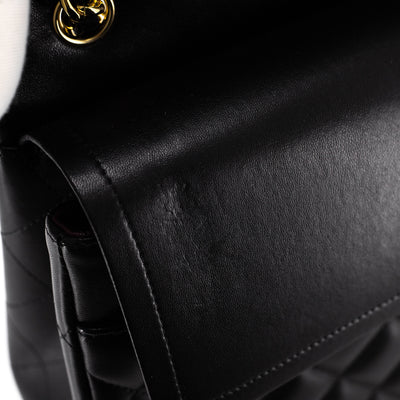 Chanel Quilted Jumbo Classic Double Flap Black