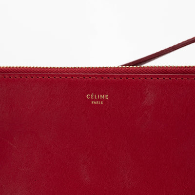 CELINE TRIO BAG IN SMOOTH LAMBSKIN