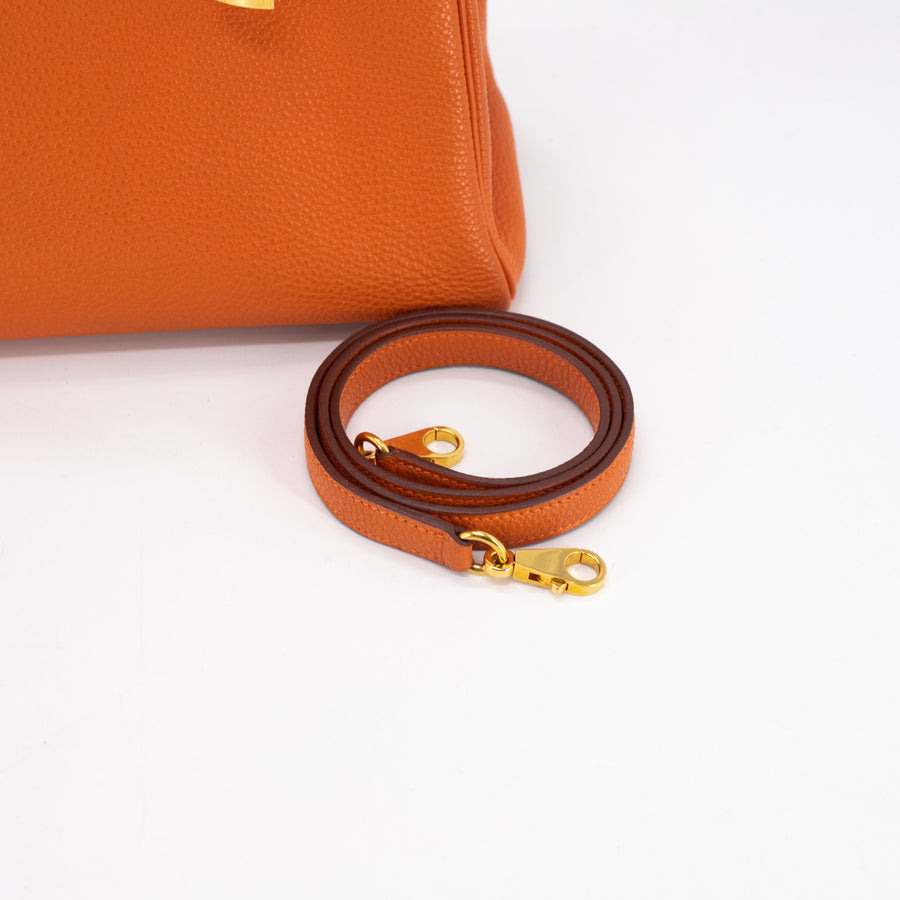 Hermes Kelly 32 Orange - K Stamp