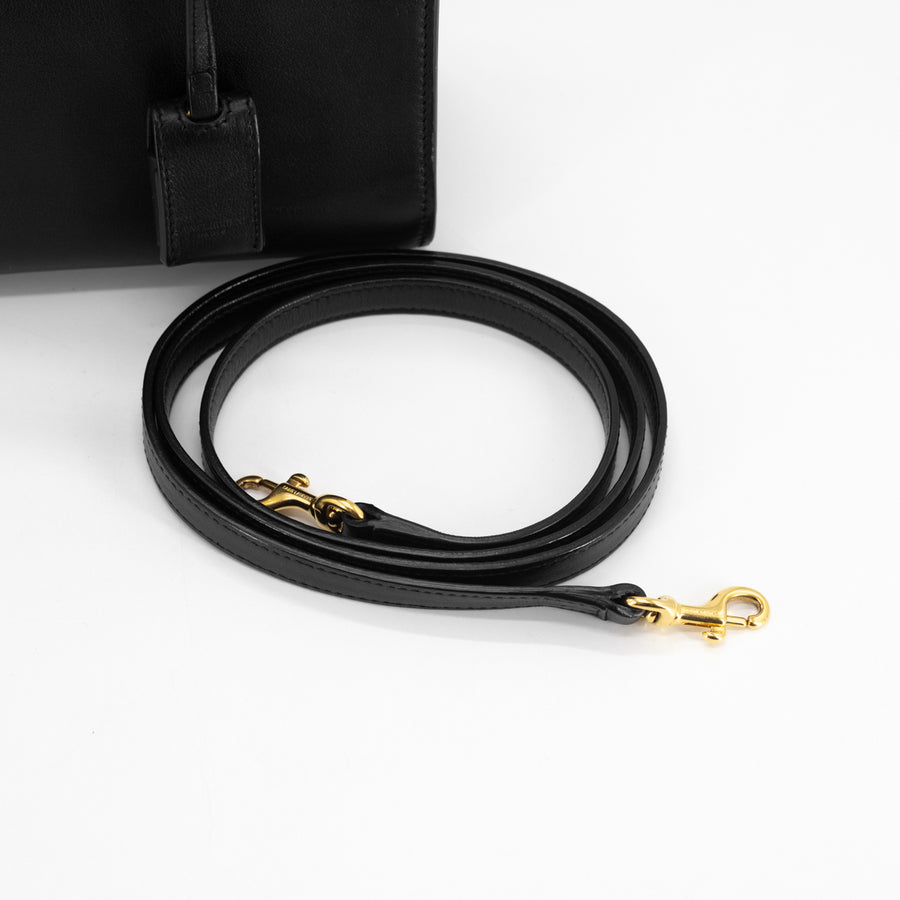 Saint Laurent Nano Sac De Jour Black