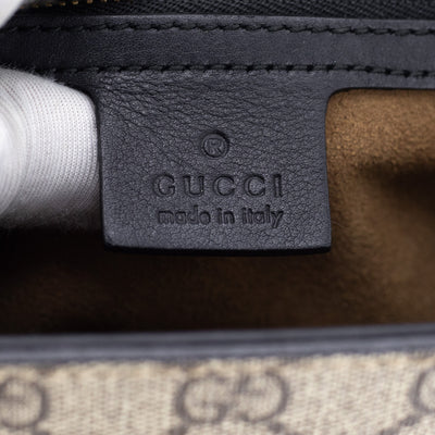 Gucci Padlock Bag Monogram/Noir