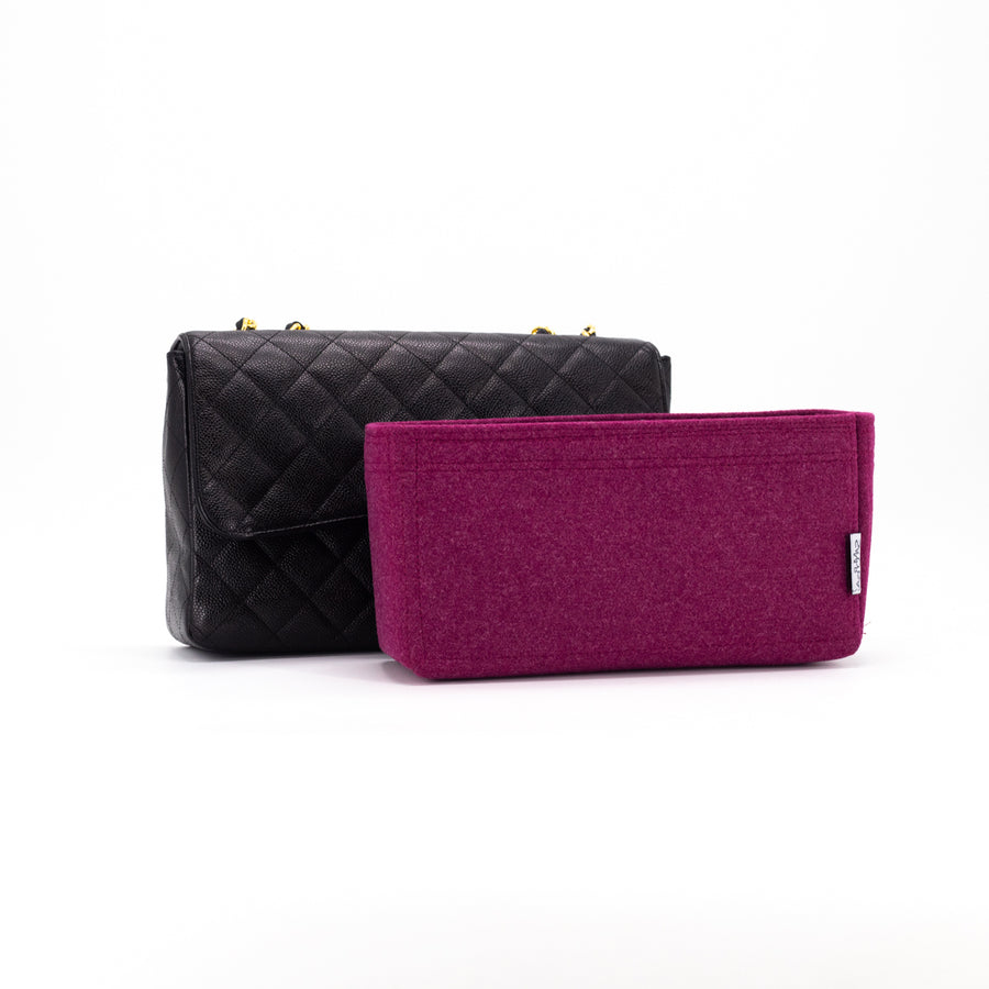 Chanel Quilted Caviar Single Flap Black
