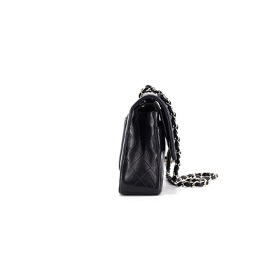 Chanel Quilted Lambskin Medium/Large Classic Flap Black