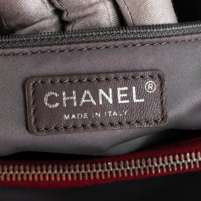 CHANEL CAVIAR GRAND SHOPPING TOTE GST Red