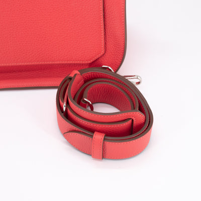 Hermes Jypsiere 34 Bag Rose Jaipur - P Stamp
