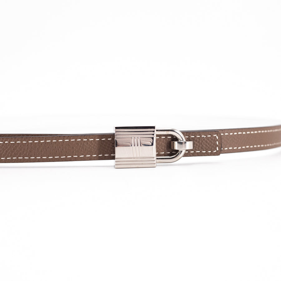 Hermes Romance Belt Buckle and Reversible Leather Strap 75
