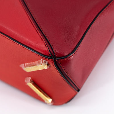 Loewe Puzzle Bag Small Red
