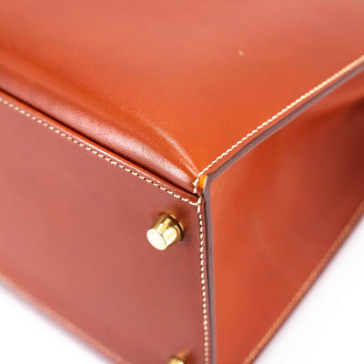Hermes Kelly 35 Box Leather O stamp 2011