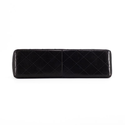 Chanel 24K Vintage Jumbo Single Flap Black