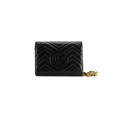 Gucci Wallet On Chain WOC Black