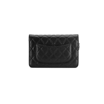 Chanel Wallet On Chain WOC Black