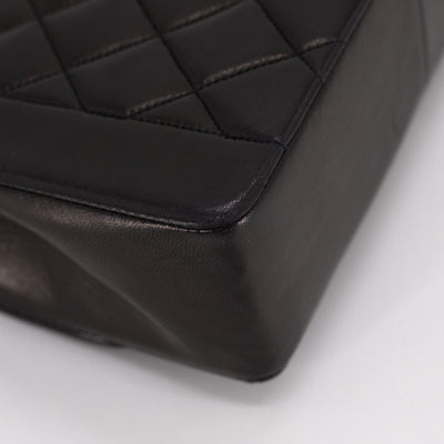 Chanel Quilted Medium Diana Black 24k
