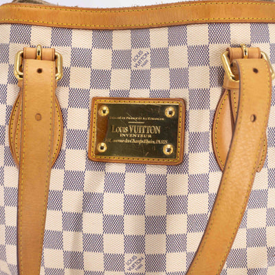 Louis Vuitton Damier Azur Hampstead MM Shoulder Bag