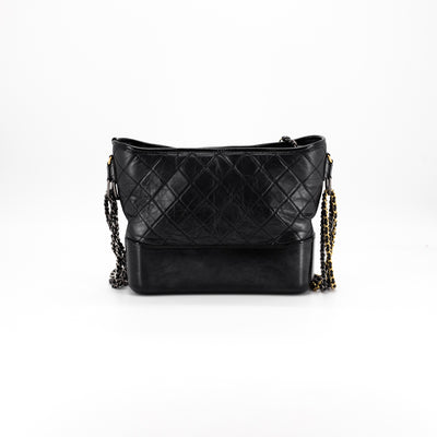 Chanel Gabrielle Hobo Medium Black