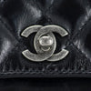 CHANEL Glazed Calfskin Quilted Medium Cross Body Bag