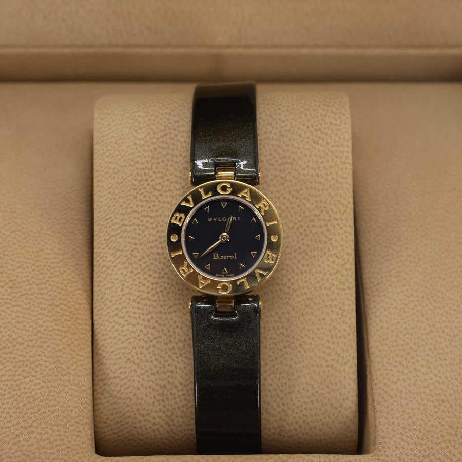 Bvlgari B.zero 1 Watch 18k Yellow Gold Model BZ22BGL