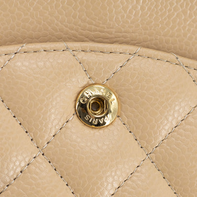 Chanel Beige Clair Medium/Large Classic Flap