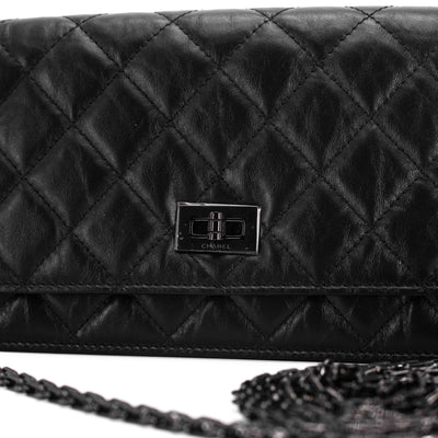 Chanel Reissue Wallet On Chain So Black