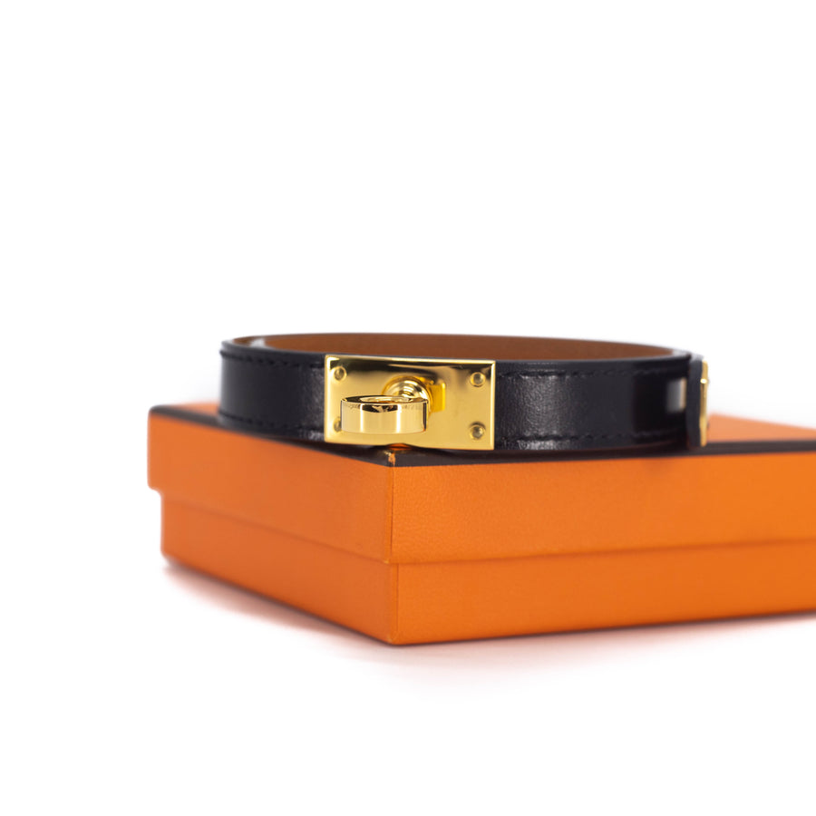 Hermes Kelly Bracelet Black