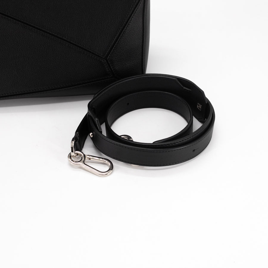 Loewe Puzzle Bag Medium Black