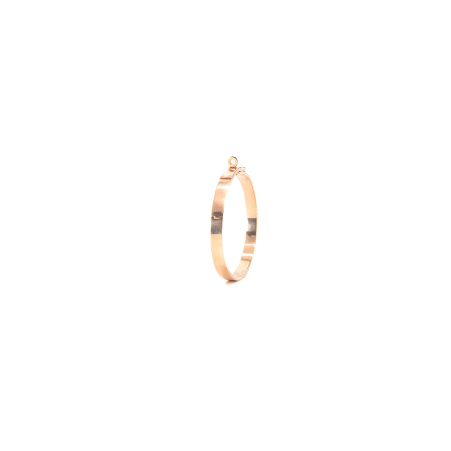 Hermes Kelly Bracelet Rose Gold with Diamonds