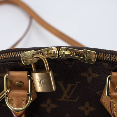 Louis Vuitton Monogram Alma BB