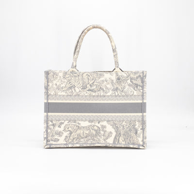 Dior Small Book Tote Off-White