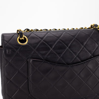 Chanel Vintage Classic Flap Medium/Large Black
