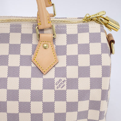 Louis Vuitton Speedy 30B Damier Azur