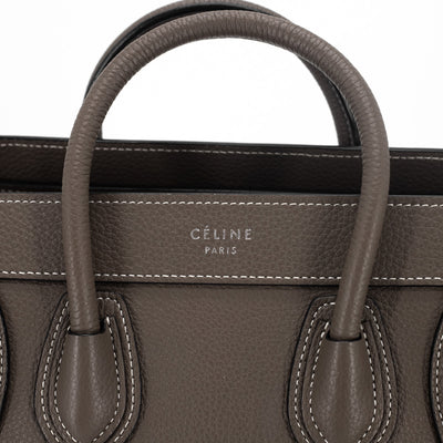 Celine Nano Luggage Souris