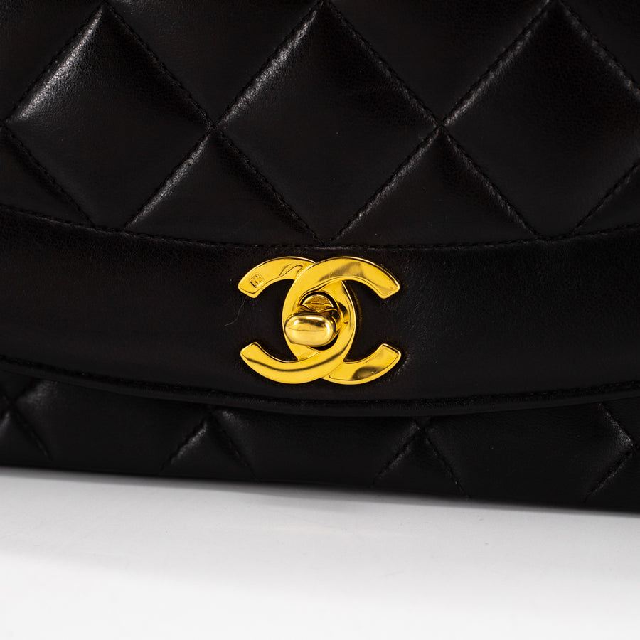 Chanel Diana Medium Black