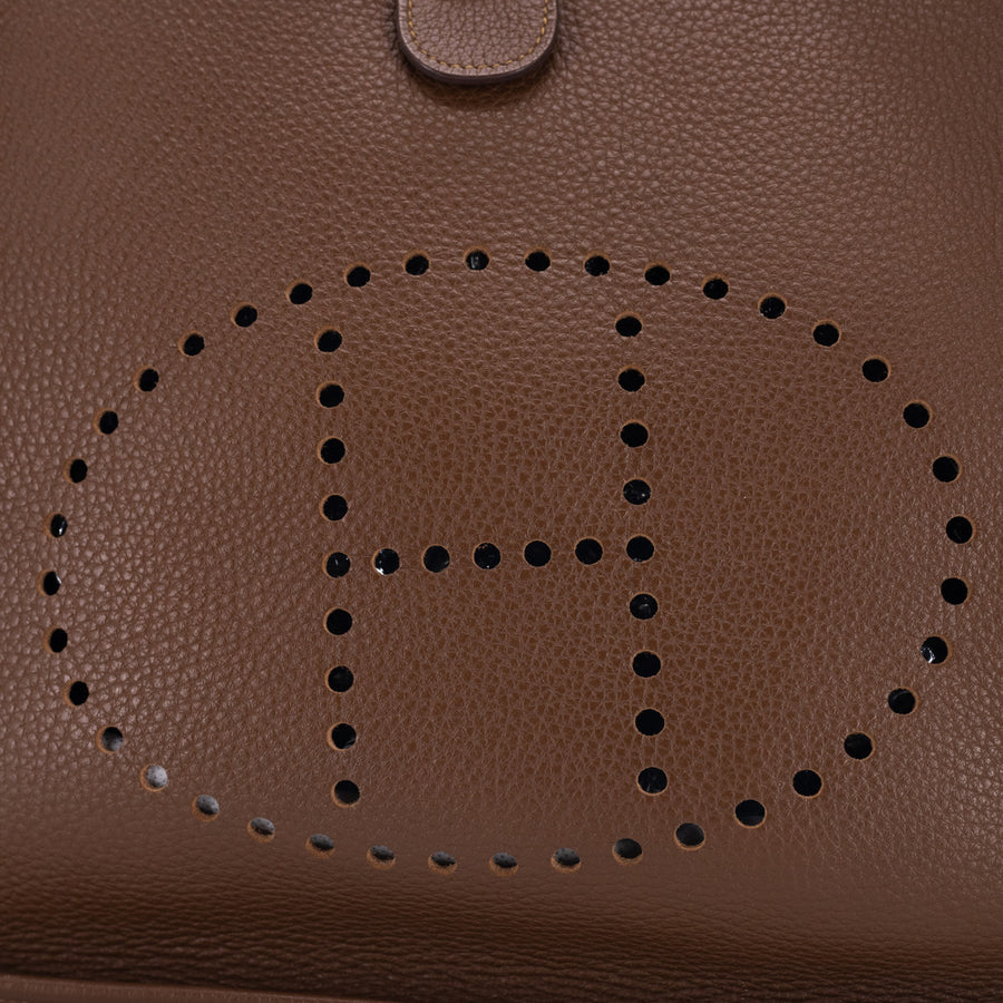 Hermes Evelyne III 29 Medium Brown - [O] Stamp
