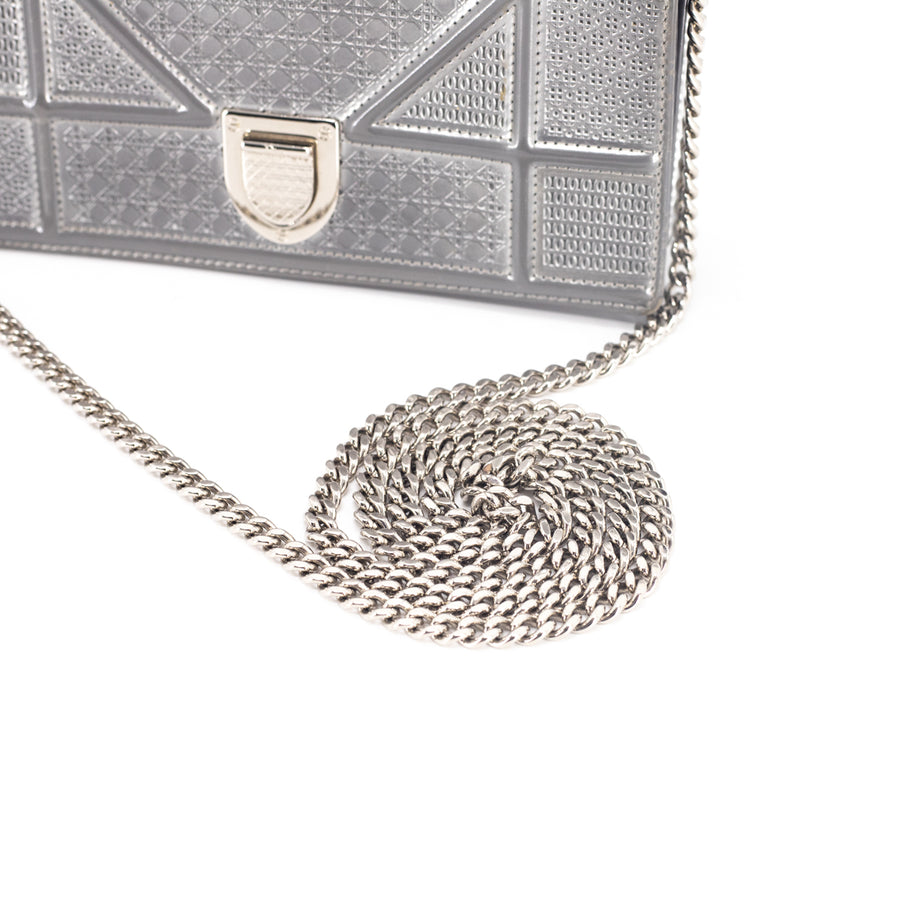 Dior WOC Wallet On Chain Silver