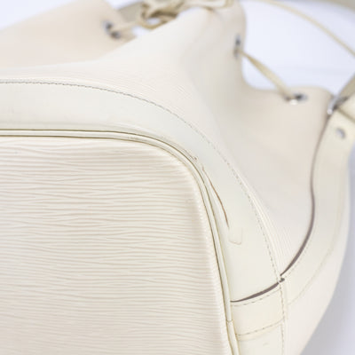 Louis Vuitton Petite Noé EPI Leather Cream