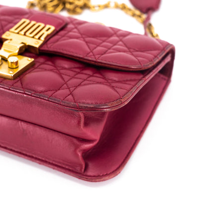Dior Addict Clutch on Chain Red