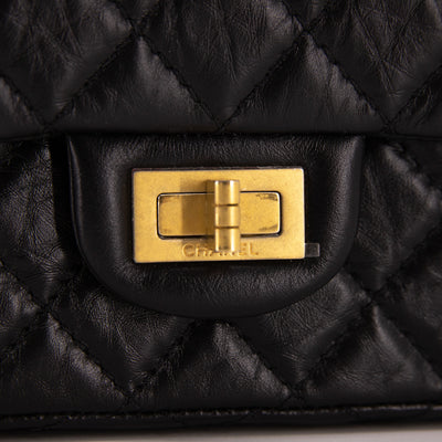 Chanel Quilted Calfskin Reissue Mini Black