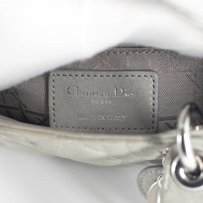 Dior Mini Lady Dior Grey