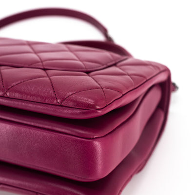 Chanel Quilted Small Trendy CC Dark Pink