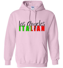 Los Angeles Italian Light Colored Unisex Pull Over Hoodie - Ciao Bella Ltd T-Shirts