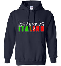 Los Angeles Italian Dark Color Unisex Pull Over Hoodie - Ciao Bella Ltd T-Shirts