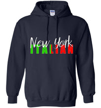 New York Italian Pull Over Hoodie - Ciao Bella Ltd T-Shirts