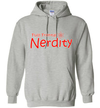 Full Frontal Nerdity Unisex Pull Over Hoodie - Ciao Bella Ltd T-Shirts