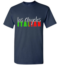Los Angeles Italian Dark Color Unisex Crew Neck T-shirt - Ciao Bella Ltd T-Shirts