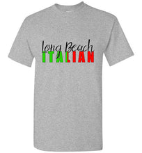 Long Beach Italian - Short Sleeve Crew Neck T-Shirt - Ciao Bella Ltd T-Shirts