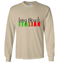 Long Beach Italian - Long Sleeve T-Shirt - Ciao Bella Ltd T-Shirts