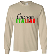 Chicago Italian - Long Sleeve Tee Shirt - Ciao Bella Ltd T-Shirts
