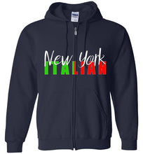 New York Italian Zipper Front Hoodie - Ciao Bella Ltd T-Shirts