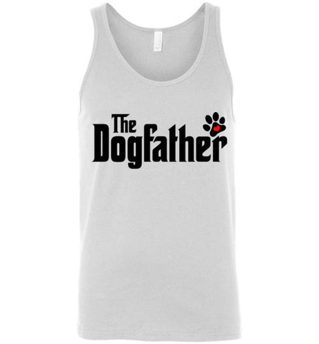 The Dogfather Pawprint Tank Top (Black font) - Ciao Bella Ltd T-Shirts